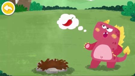 儿童动画:吃辣椒可以喷火的小怪物?