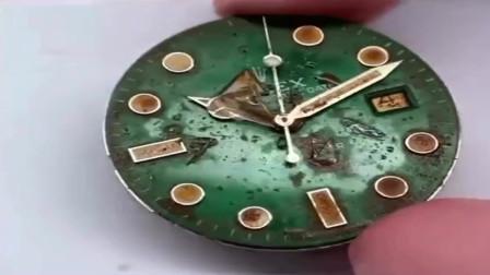 二手翻新表,就怕买到这样的吧?你看到的好成色
