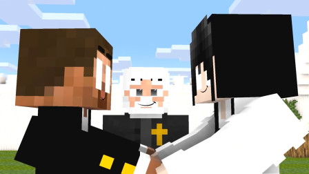 我的世界动画-怪物学院-Herobrine的婚礼-MineCZ