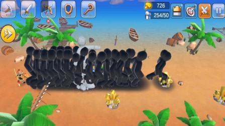 火柴人战争:这游戏巨人威力太大,只能召唤巨人组?