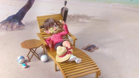飞狗MOCO:只要心态好,任何地方都能度假哦!