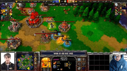 【TED出品】WSB B组 Lawliet vs Soin 阵型把控能力