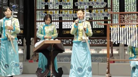 瓷器还能做成乐器?笛子、二胡都有,景德镇古窑表演