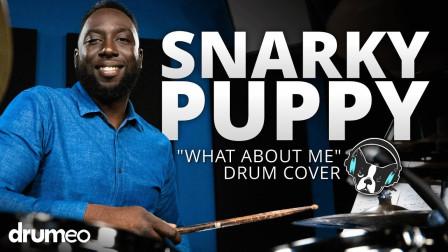 """【中文字幕】Larnell Lewis - """"Snarky Puppy"""" - What About Me - Drum Cover"""