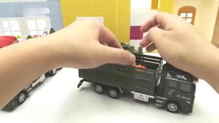 樱桃小丸子分享军事模型车玩具