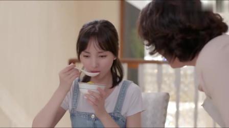 爱上你:霸总见小娇妻吃得正香,不由得想起了学生时期的她,真甜