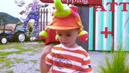 亲子快乐,快来看看吧,妈妈带弗拉德和小正太去儿童乐园玩