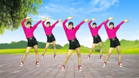 健身操教学《小桥情缘》3组动作燃脂赘肉,瘦出小蛮腰