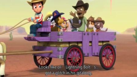 汪汪队:杰克这工作很简单,看着机器马就行,杰克能老实吗