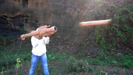谁说不能纸上谈兵!纸筒火箭一样也能发射