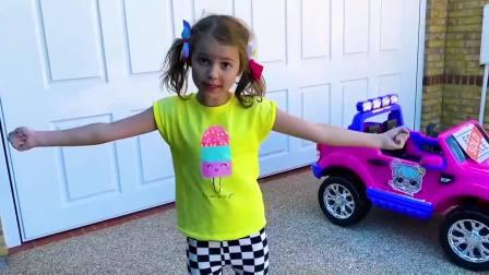 萌娃小可爱小萝莉骑自行车摔跤了!萌娃太不小心了。