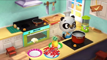 熊猫餐厅:看看今天的菜单!