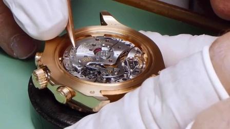 劳力士机械手表的精密维护,看着很解压!