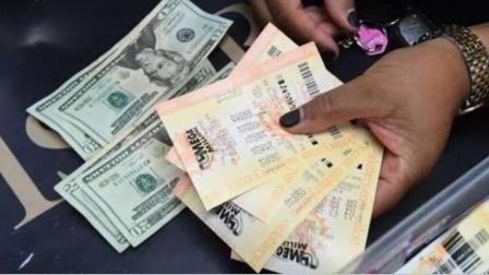 美国开出10亿美元彩票头奖 为美国彩票史第三大头奖#酷知#