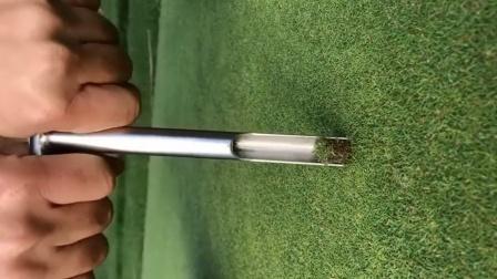 高尔夫球场地土壤检测取样,像不像洛阳铲?