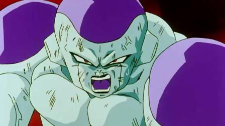七龙珠:弗利萨正要使用一百倍力量,谁知悟空说了这话,直接愣住