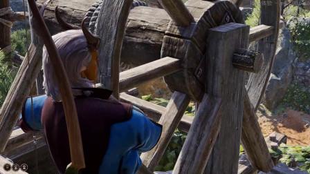 博得之门3第4期进入德鲁伊营地