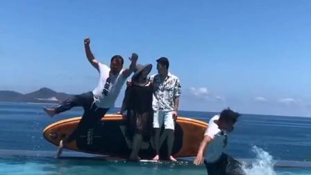 菲律宾炸鱼队#游泳 #菲律宾炸鱼队