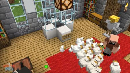 我的世界动画-如果有菜鸟模式-Minecraft Stories