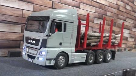 RC遥控MAN卡车运输木材