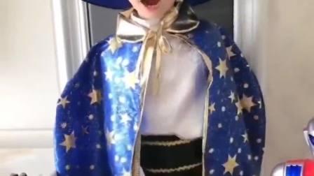 欢乐童年:小魔法少年好可爱啊