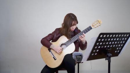 古典吉他演奏《栀子花布鲁斯》,陈曦公开课《尼龙弦上的现代风格与技巧》