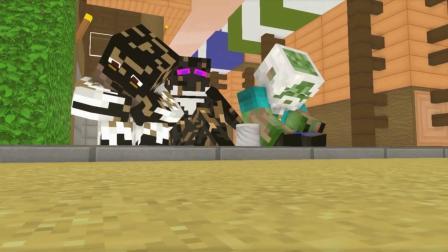 趣玩游戏:史蒂夫僵尸流浪沙漠