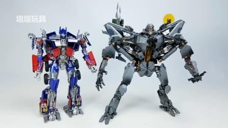 变形金刚KO杰作-10红蜘蛛(金属变形F-12)机器人玩具