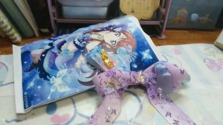 【呆】妹子定制的紫吹兰主题印象款手作蝴蝶结福袋//偶像活动自制食玩包w!持续接单呀