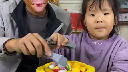 趣味童年:烤串怎么卖的