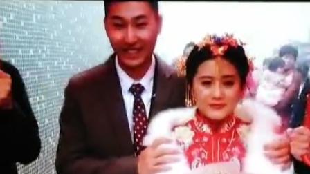 新郎江孝明▪新娘章晨:婚礼仪式。