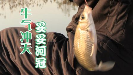 悠然野钓三种鱼连连上岸,吸引钓友前来取经,妥妥的河冠!