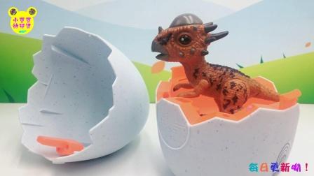 巴啦啦小魔仙拆恐龙蛋玩具啦,一起来孵化冥河龙吧