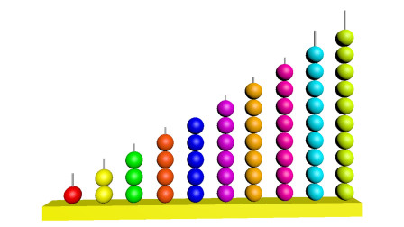 数一数有多少个彩色球?儿童早教益智动画,认识颜色英语和数字