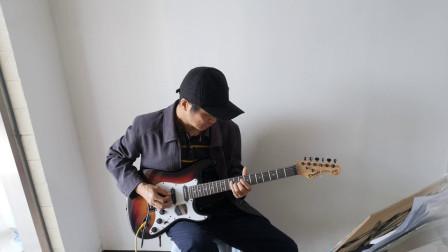 海滨  电吉他弹奏 《菊花台》