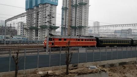 4636次(太原-忻州)太原站出发