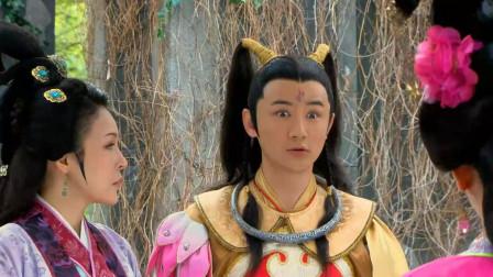 姜子牙跟李靖一家道别,哪吒跟随他去西岐,夫人满脸都是不舍