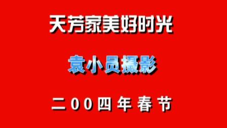 天芳家春节欢乐时光