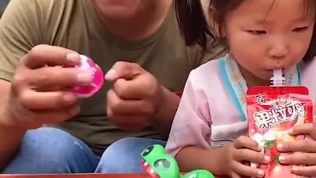 少儿趣事:爸爸你怎么吃鳄鱼啊?