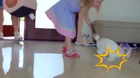 萌娃小可小萝莉和爸爸儿童短片剧第43集