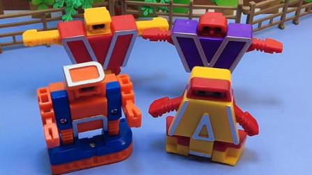 乔治被怪兽抓走了,机器人合体去救乔治,这样威力才大