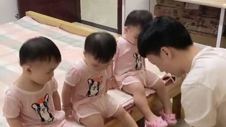 童年趣事:这个爸爸有点忙!