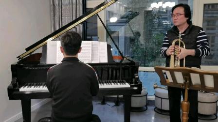 巴赫—古诺《圣母颂》富鲁格号演奏 聂影,钢琴伴奏 毛佳瑞