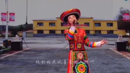 青海小调《赞家乡》演唱:靳永芳