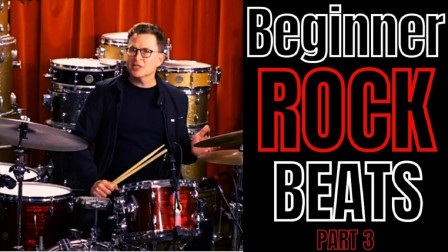 Stanton Moore - The First 5 Drum Beats Your Should Learn Part 3 - Drum Bears...