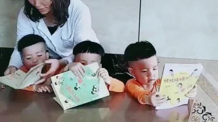 童年趣事:忙忙碌碌的一天,教育从小抓起!