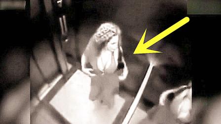 国外金发美女走进电梯,假如没监控,她这经历谁信?