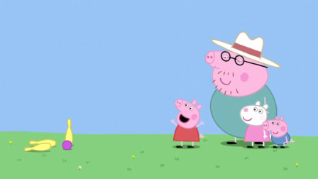 小猪佩奇:看猪妈的眼神,猪爸觉得愧疚难当,这球实在太准了