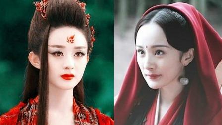 惊动导演的十位古装美人,杨幂只一眼便是万年