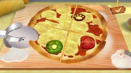 熊猫餐厅:好美味的披萨呀!